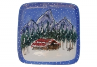 Snowy Cabin - Product Image