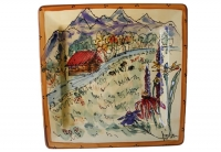 Cabin Through the Wild Flowers - Product Image