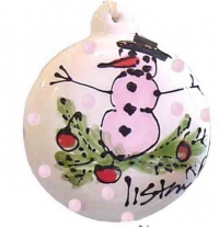 Pink Snowman - Product Image